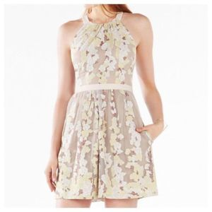BCBG Maxazria Cailyn Burnout Floral Dress 12